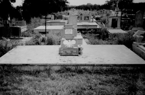Cmentarz w Kocinie.